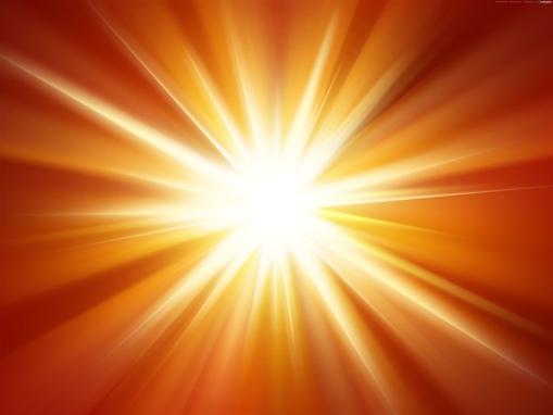 orange-light-burst